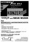 Flyer Accordeonova 2002 - Tango und neue Musik