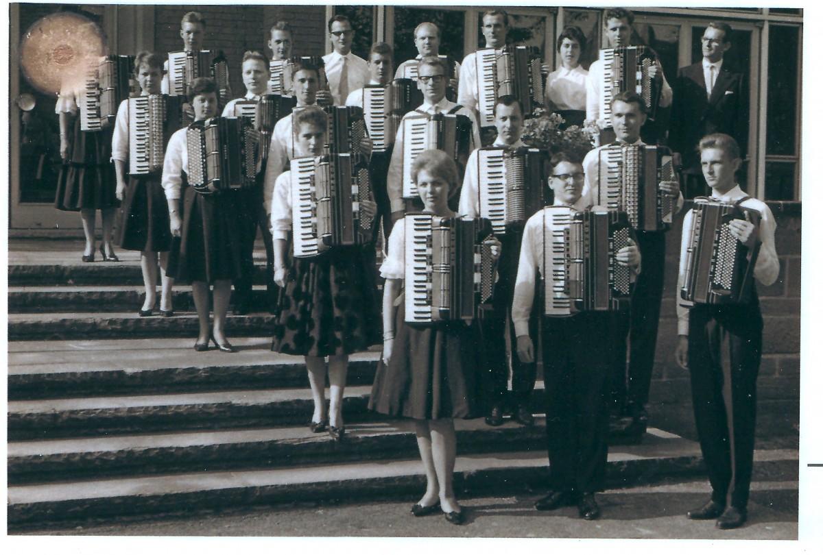 Nürnberger Akkordeonorchester 1961