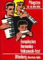 Europäisches Harmonika Volksmusik-Fest in Offenburg 1966
