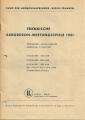 Fränkische Akkordeon-Wertungsspiele in Nürnberg 1951