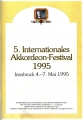 5. Internationales Akkordeon-Festival Innsbruck 1995