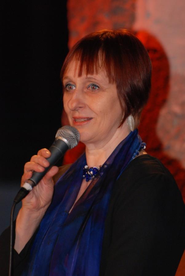 Barbara Schofer beim Knef-Konzert 2009