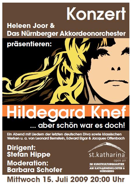 Knef-Konzert Nürnberger Akkordeonorchester 2009