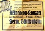 Konzert von Hermann Schittenhelm in Nürnberg 1948