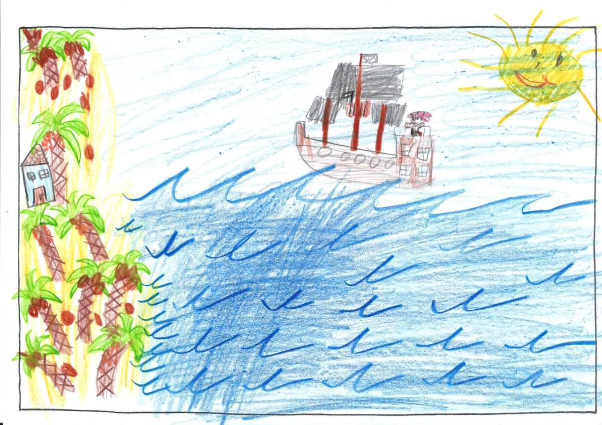 Carina, 8 Jahre - 3. Preis