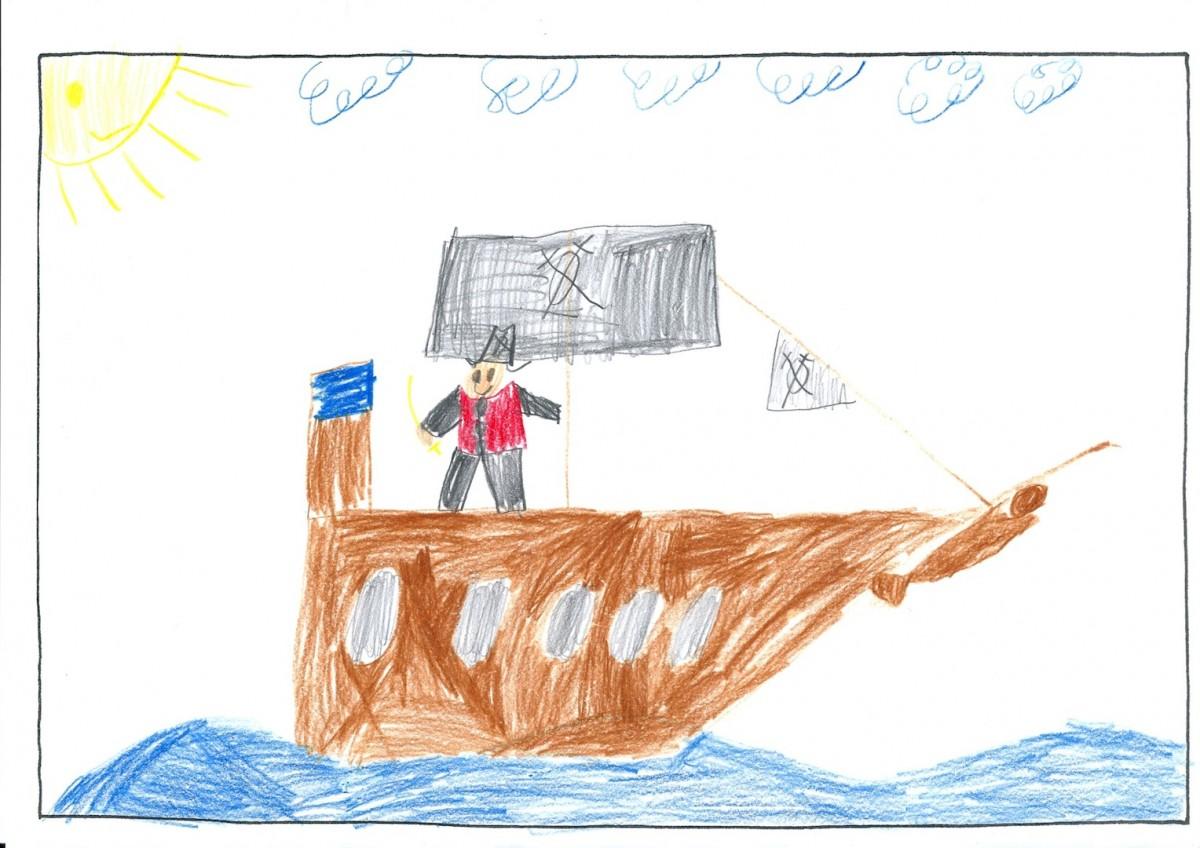 Felix, 8 Jahre - 4. Preis