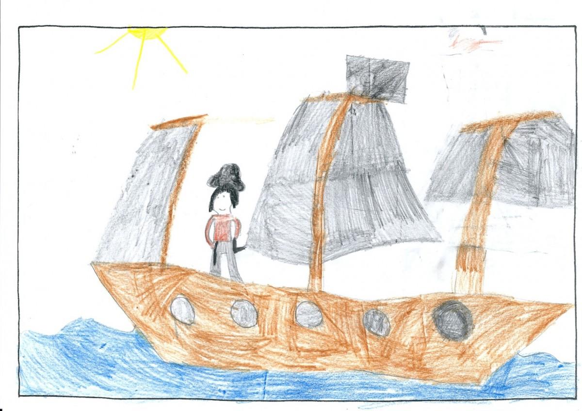 Melina, 6 Jahre - 2. Preis