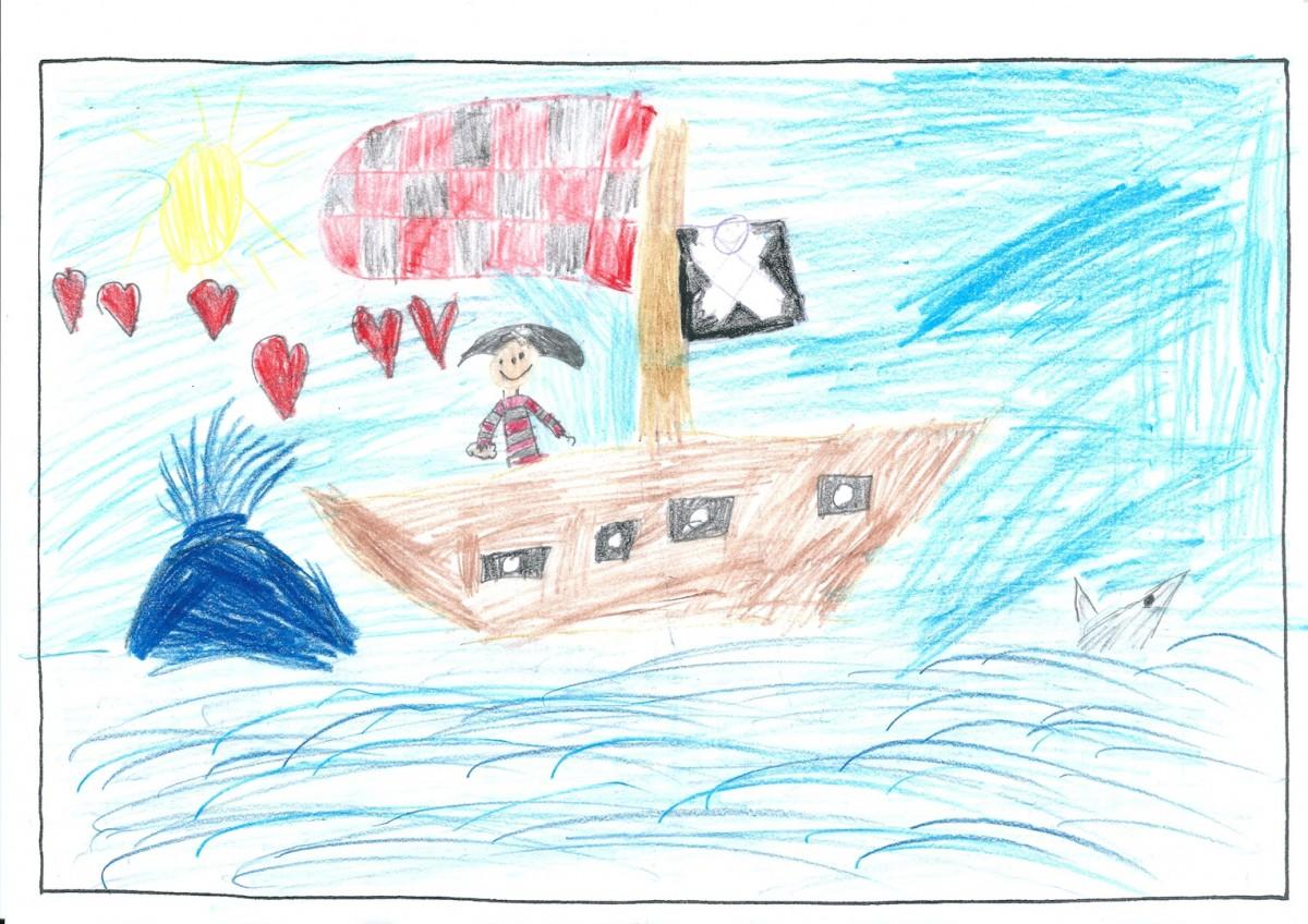 Miriam, 7 Jahre - 1. Preis