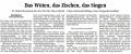 Zeitungskritik Juli 2011, Bayreuth
